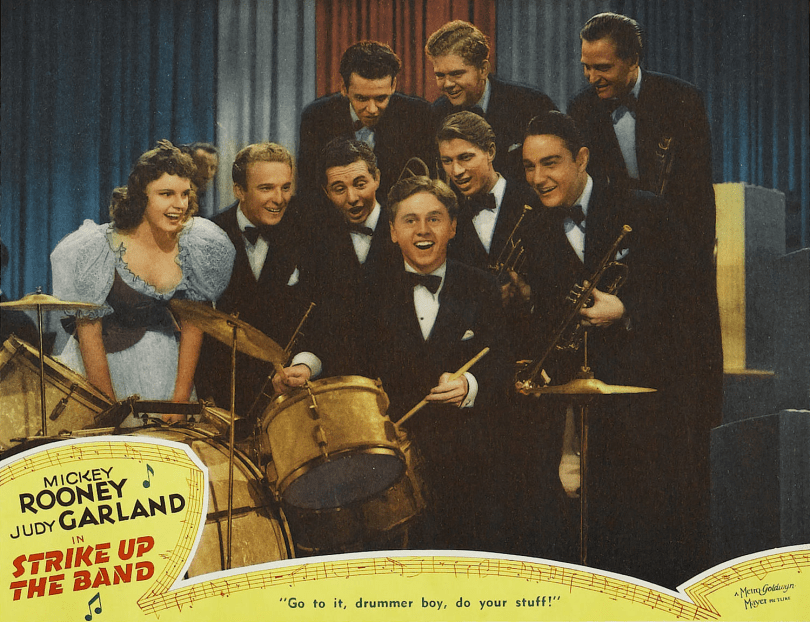 "Judy Garland and Mickey Rooney in ""Strike Up The Band"" 1940"