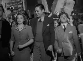 """Judy Garland and Mickey Rooney in """"Babes in Arms"""""""