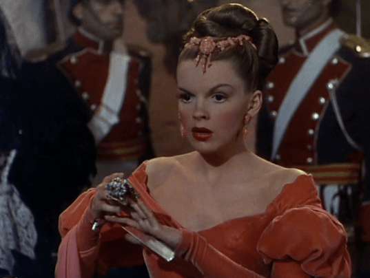 "Judy Garland in ""The Pirate"""