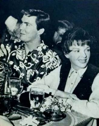 Tom Green and Judy Garland in 1967