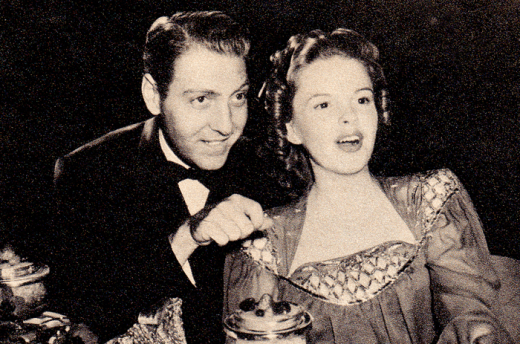 Judy Garland and David Rose - Photoplay August 1941