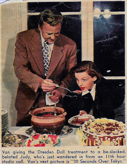 August 25, 1944 Van Johnson's birthday party