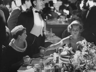 Jack L. Warner;Lauren Bacall;Judy Garland