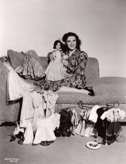 Judy Garland and her doll