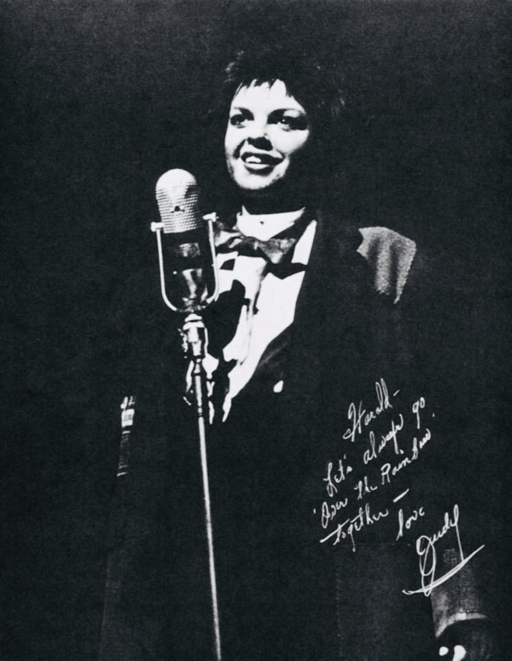 Judy's signed pic to Harold Arlen
