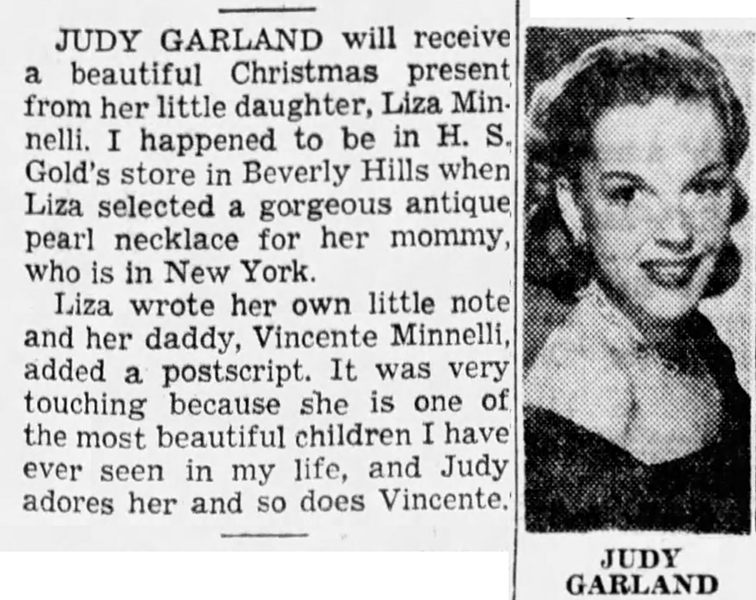 December-25,-1951-LIZA'S-GIFT-TO-MAMA-The_San_Francisco_Examiner
