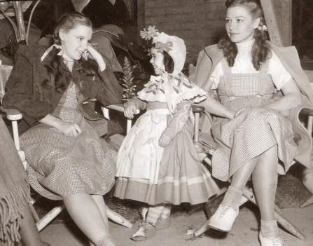 Judy Garland and Bobbie Koshay