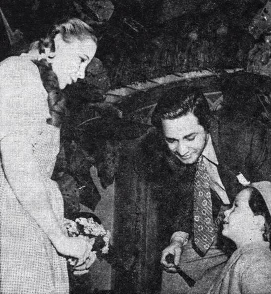 Judy and Mervyn LeRoy
