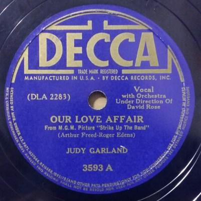 Our Love Affair - Rick Smith