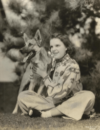 February-28,-1938-1938-TOUR-SAME-OUTFIT-MIAMI-Judy-and-her-dog