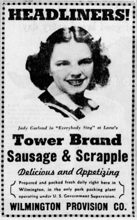 February-25,-1938-JUDY-SELLS-SAUSAGE-The_Morning_News-(Wilmington)