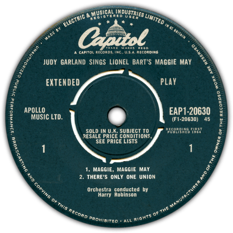 Maggie-May-45-label