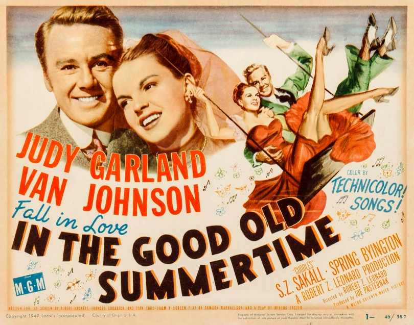 In The Good Old Summertime Lobby Card