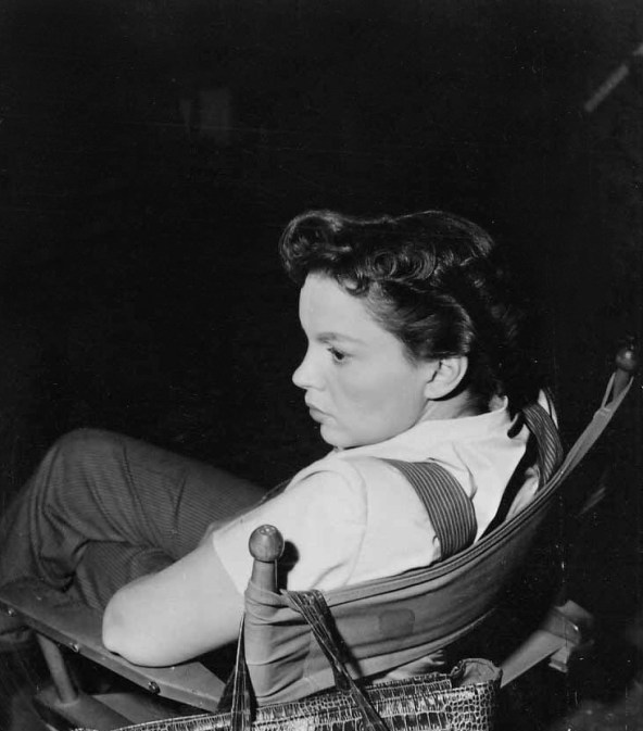 Judy Garland on the set of Summer Stock November 21, 1949