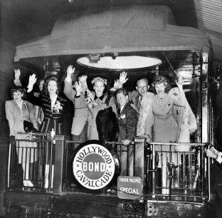 September 4, 1943 BOND TOUR Hollywood Bond Cavalcade Tour USO