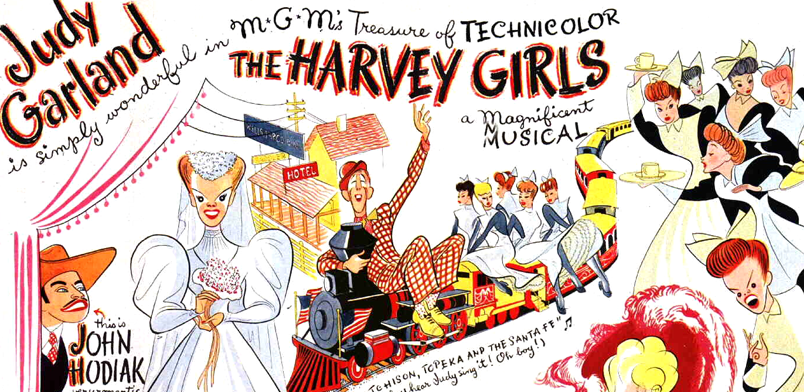 Judy Garland in The Harvey Girls