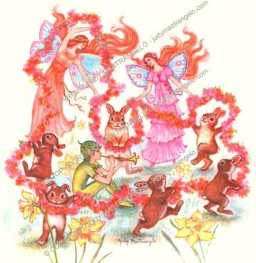 Spring Bunny Dance