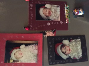 Three little Santa's and how they grew!