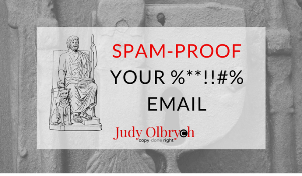 Spam-Proof Your %**!!#% Email