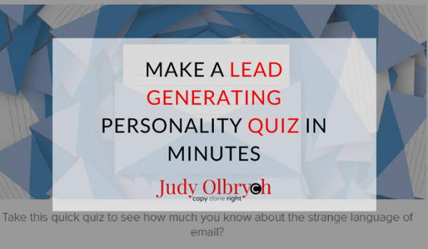 How to Make a Lead Generating Personality Quiz in Minutes – Free Tutorial