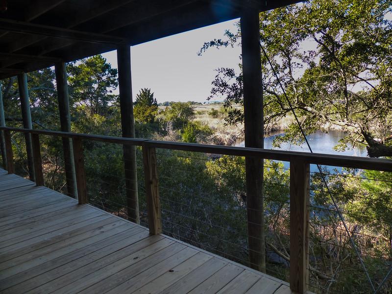small house porch views