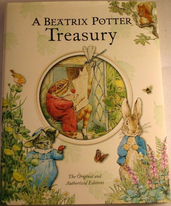 Beatrix Potter Treasury - Hardcover Book Ten
