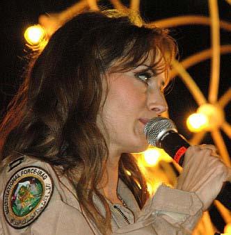 Chely Wright  Military Tour  Iraq  Kuwait  Judy Seale International