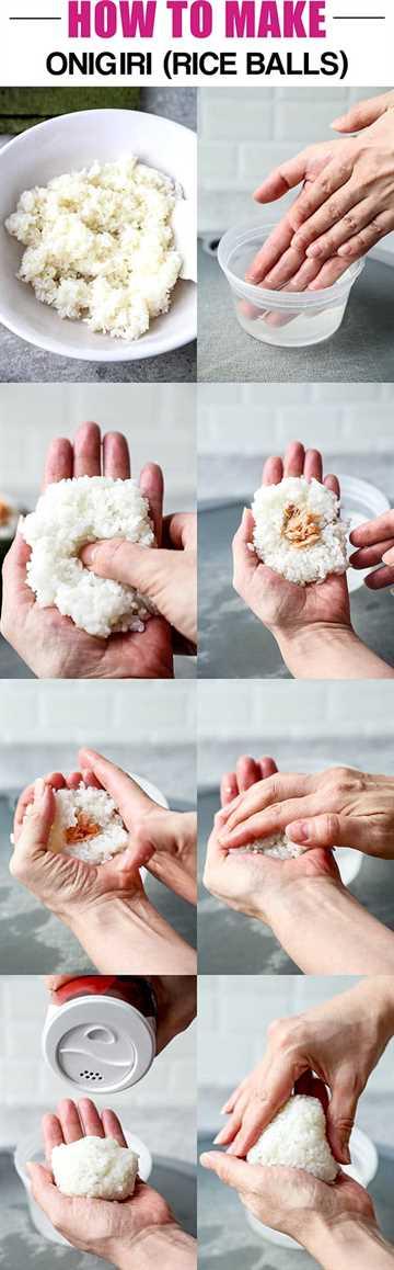 🥇 ▷ Wie man Onigiri macht - 26 に ぎ り - (26 einfache Rezepte