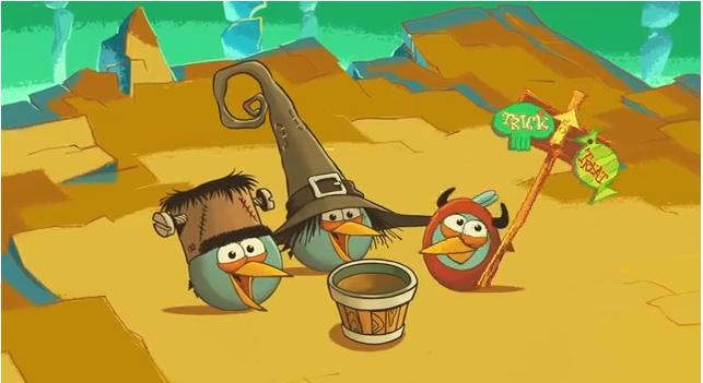 Angry Birds Seasons Halloween o Ham'O'Ween