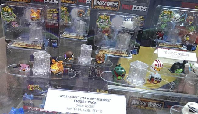 más figuras de Angry Birds Star Wars II