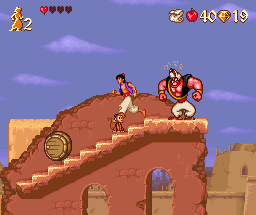 Aladdin - Juegos de Bolas