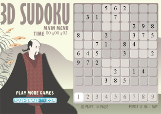 3D Sudoku - Juegos de Bolas