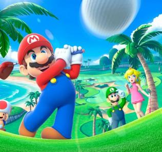 Mario Golf: Advance Tour - Juegos de Bolas