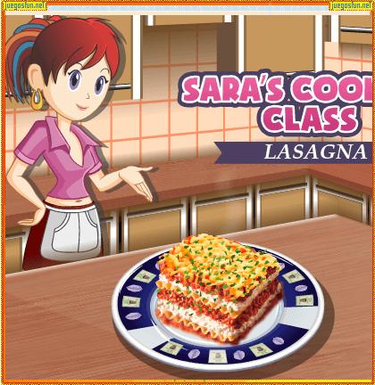 Cocina con sara Lasaa  JuegosFUNnet