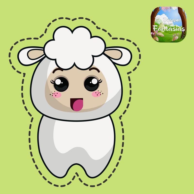 Fichas con RECORTABLES de animales para nios de infantil