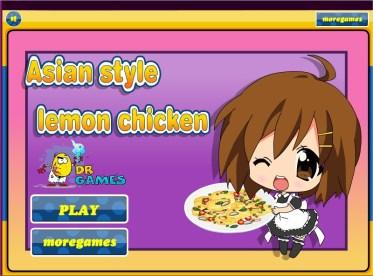 JuegosKizi Jugar Juegos Asian Lemon Chicken  juegoskizi4friv