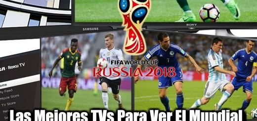 Televisiones para el mundial