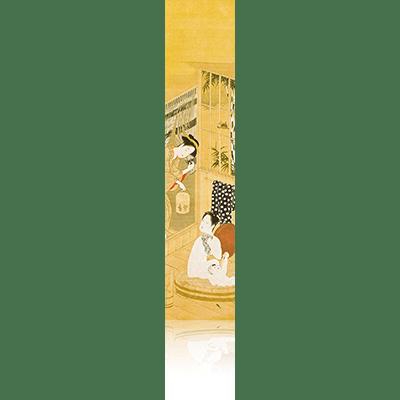 婦女風俗十二ヶ月図 春章