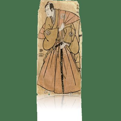 ニ代市川高麗蔵の南瀬六郎宗純 写楽