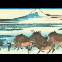 遠近風景画 富嶽三十六景 其の三十一 駿州大野新田 Sunshu Onoshinden Thirty-six Views of Mount Fuji 3D