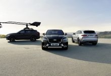 Photo of JAGUAR F-PACE GIVES NEW-GENERATION CANON EOS SYSTEM CAMERA ITS FIRST HIGH-PERFORMANCE WORK-OUT