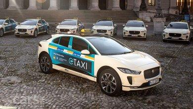 Photo of Emissionsfrei und leise durch die City mit der neuen Taxi-Version des vollelektrischen Performance-SUV JAGUAR I-PACE
