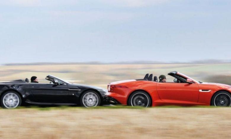 Jaguar F Type Vs Aston Martin V8 Vantage Jurins Blog Auto Stahl