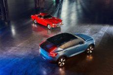 Volvo C40 Recharge und Volvo P1800
