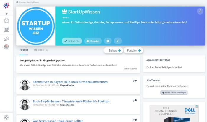 VZ.net-Gruppe von StartUpWissen.biz
