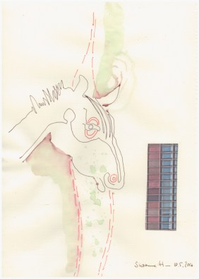#57.2 Null-Pferde (c) Zeichnung von Susanne Haun