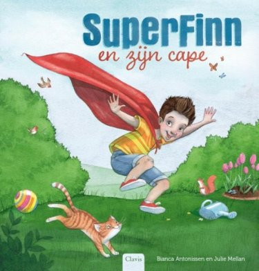 SuperFinn en zijn cape