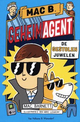 Mac B. Geheim Agent #1 De gestolen juwelen