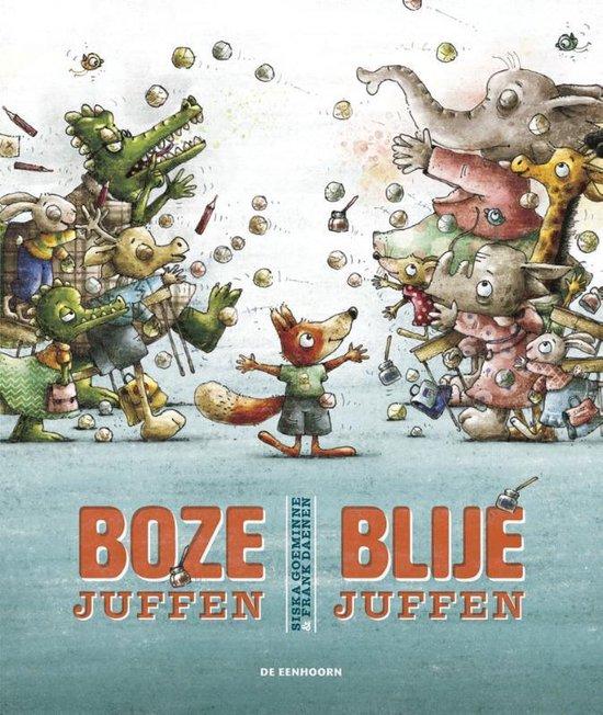 Kinderboekenweek 2021 Thematitel Boze juffen Blije juffen