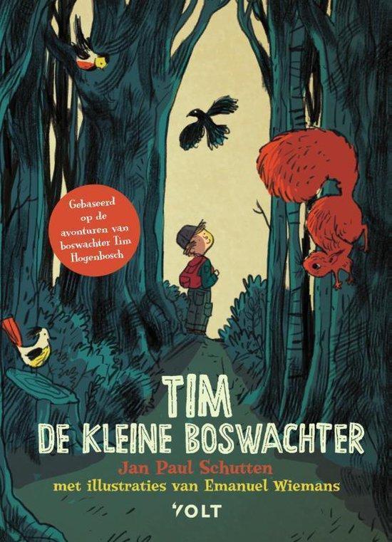 Kinderboekenweek 2021 Thematitels Tim de kleine boswachter